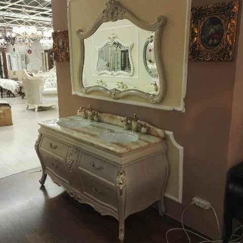 CL 1282 - мебель в ванную в классическом стиле