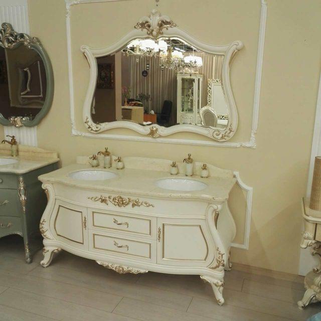 CL - 1269 Купить комплект мебели для ванной комнаты в классическом стиле