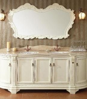 Мебель для ванной комнаты из массива дерева - GODI