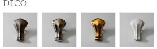 Ножки для ваны отдельностоящей на ножках Decò