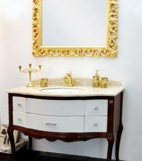 Мебель для ванной комнаты в классическом стиле GODI