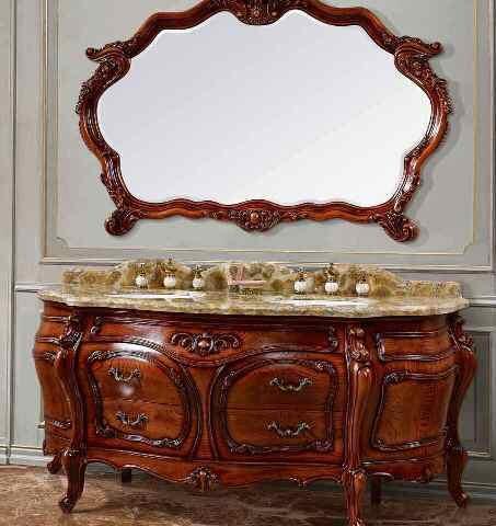 Комплект элитной мебели в ванную комнату, элегантная классика Киев