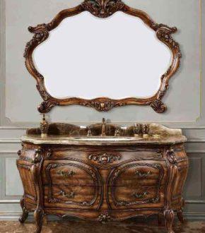 Элитная мебель для ванной в стиле ретро, модель Classic 1292 💕