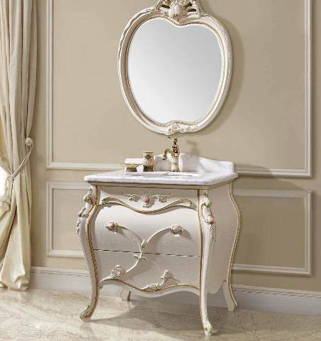 Официальный сайт мебели для ванны, классический стиль CL-B-1 Энигма
