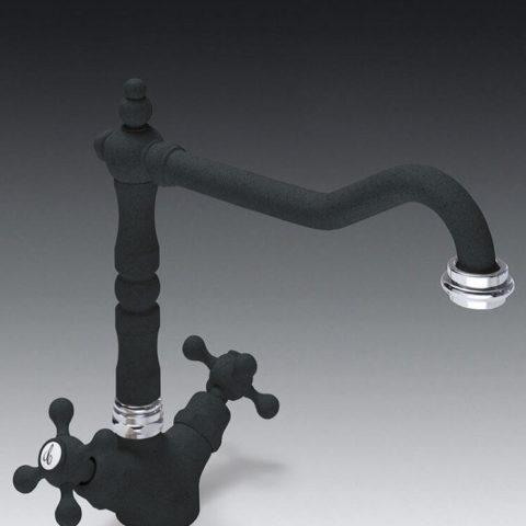 Итальянский классический смеситель Smeg ME4A - для ванн и раковин