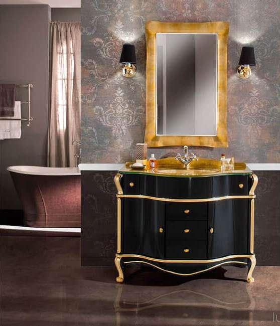 Мебель в ванную из дерева в классическом стиле GALLO WOOD