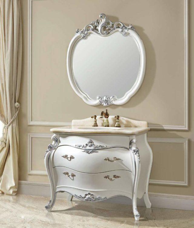 Купить комплект мебели для ванной комнаты CL - F1-1, классический стиль
