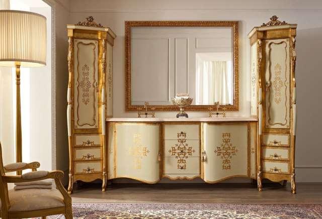Классический гарнитур в ванную из Италии