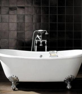 Ванна на ножках отдельностоящая ADMIRAL чугунная отдельностоящая