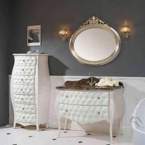 Комплектация мебели из Италиидля ванной комнаты