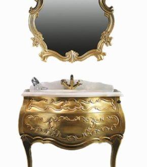Гарнитур XZ-02 Godi (Годи): мебель для ванной в классическом стиле