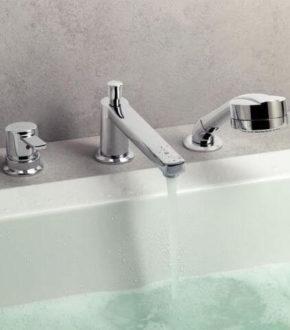 Смеситель на 3 отверстия для ванны, Немецкое качество - Kludi MX | www.rodecs.com.ua