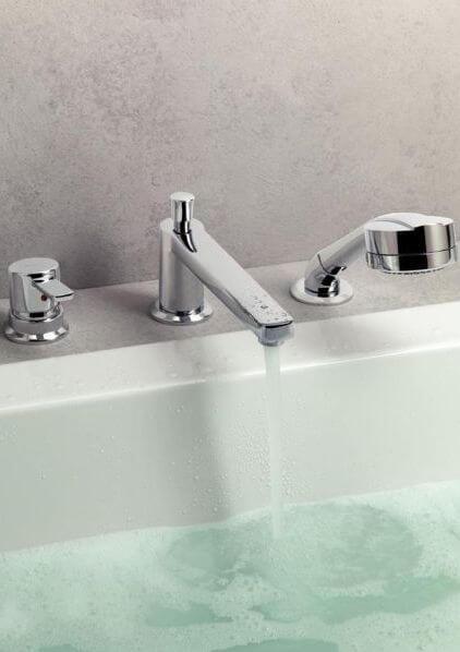 Смеситель на 3 отверстия для ванны, Немецкое качество - Kludi MX   www.rodecs.com.ua
