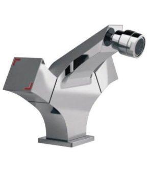 Дизайнерский хромированный смеситель для биде SHRUDER SQUARE MR6007