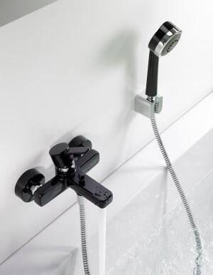 Смеситель для ванны с душем, цена на коллекцию Kludi Zenta в Киеве | www.rodecs.com.ua