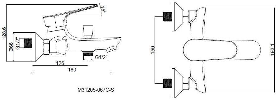 Смеситель SHRUDER KELN MR8001