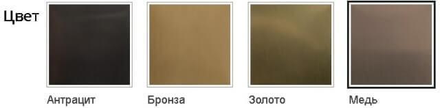 Доступны цвета: поверхности смесителя Слим Алвеус
