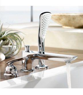 Качественный смеситель для ванны Kludi Balance, врезной кран на 3 отверстия | www.rodecs.com.ua