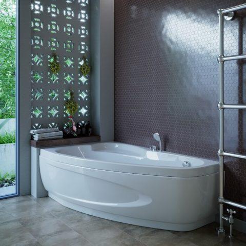 Акриловые гидромассажные ванны WGT, цены на модель Como в Киеве | www.rodecs.com.ua