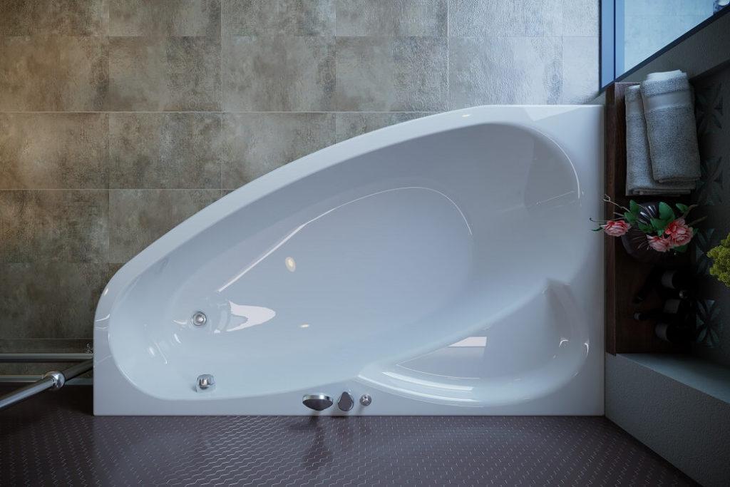 Como WGT - современная ванна с гидромассажем
