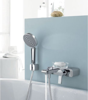 Однорычажный смеситель для ванны с душем - Kludi O-CEAN в Киеве | www.rodecs.com.ua