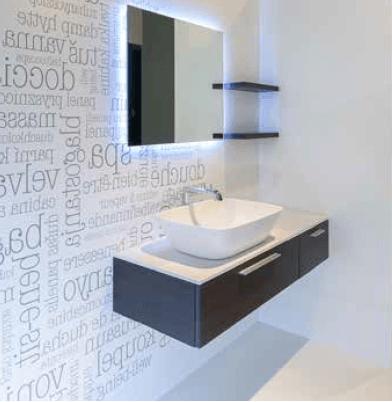 дизайнерская мебель в ванную комнату