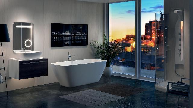 Фото ванной комнаты продуманной до мелочей от Балтеко