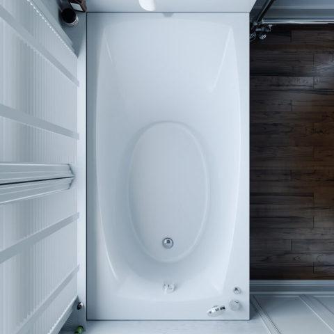 Ванна акриловая с гидромассажем, цена в Киеве на ванную Tivoli WGT