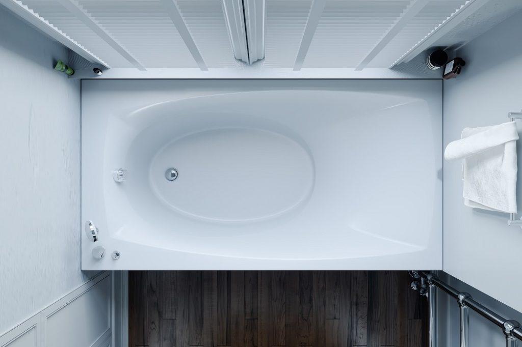 Прямоугольная ванна с гидро- и аэромассажем Tivoli WGT
