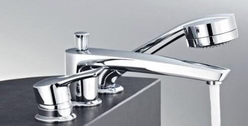 Смеситель врезной на 3 отверстия для ванной Kludi MX (334470562)