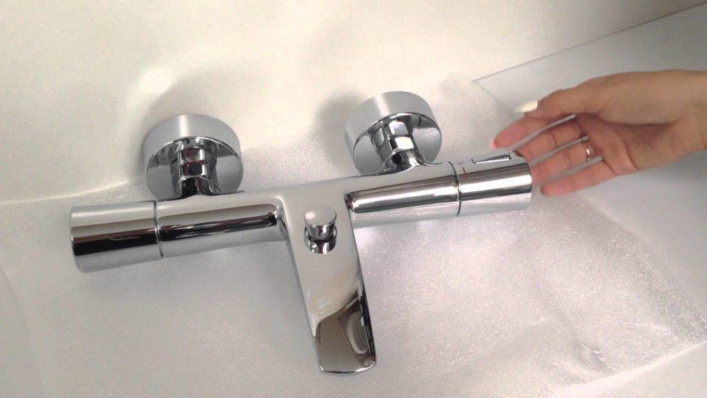 Смеситель для ванны с термостатом Kludi Zenta