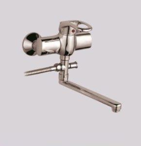 Длинный гусак для смесителя в ванную, купить Shruder Fleur ML2005B