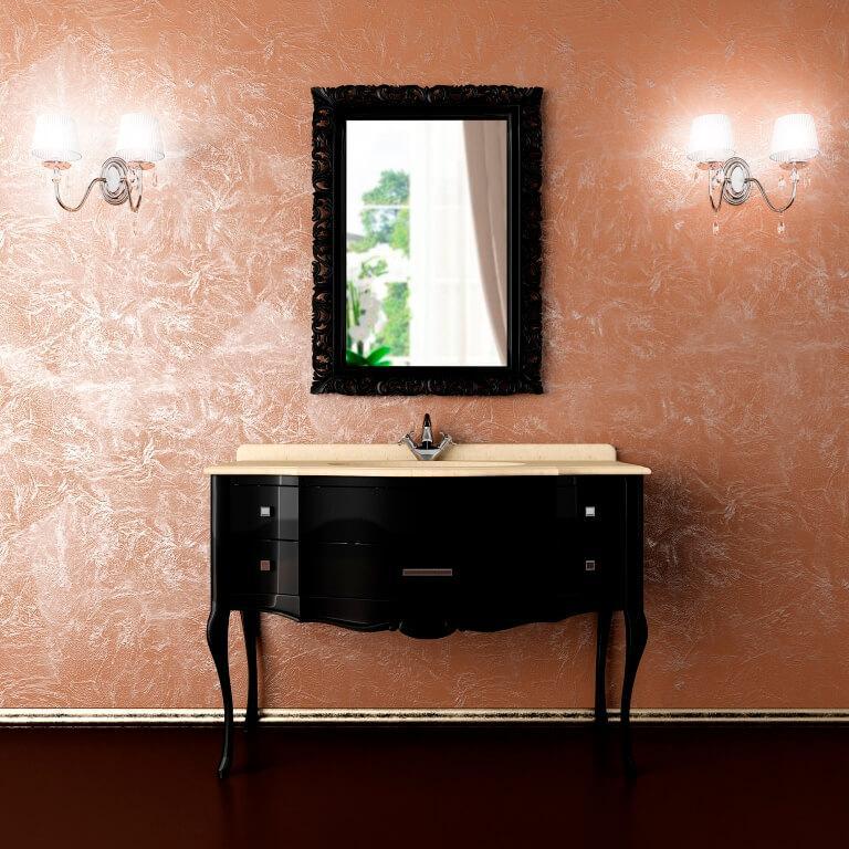 Тумба со столешницей и зеркало ANGELIQUE Марсан