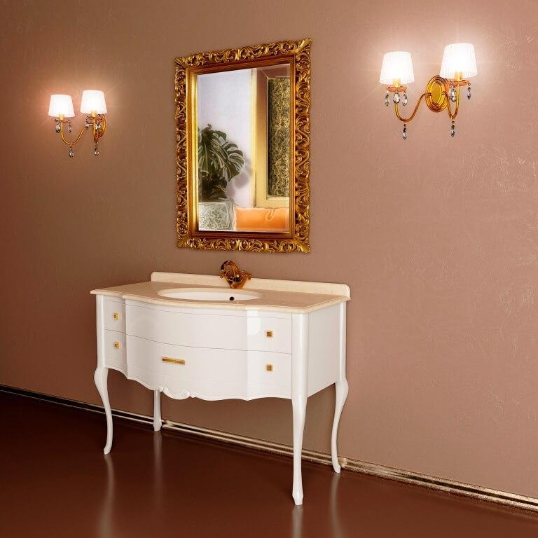 тумба с зеркалом для ванной комнаты ANGELIQUE
