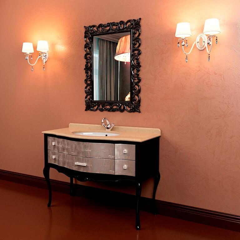 Классическая мебель для ванной конматы Marsan