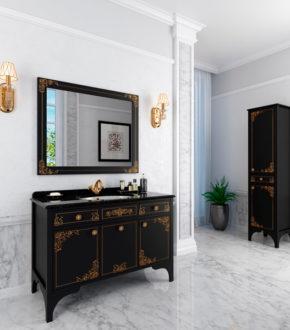 Гарнитур для ванной комнаты Jacqueline, купить в Киеве ретро мебель