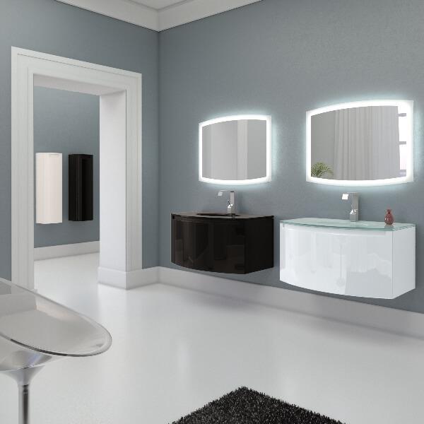 потрясающий двойной комплект мебели для ванной комнаты Madeleine (Marsan)