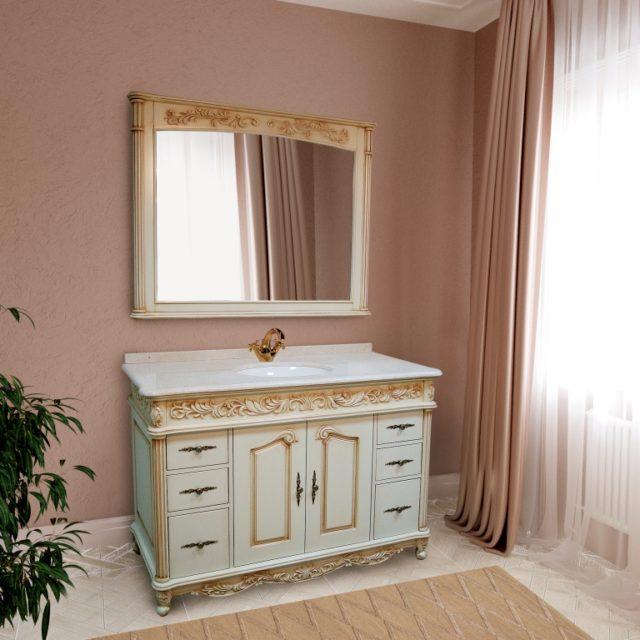 Купить гарнитур для ванной комнаты Олимпия (OLYMPIA) Марсан, в Киеве