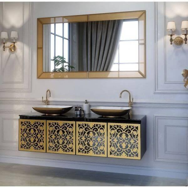 комплект мебели для ванной комнаты -Vincent (Marsan)