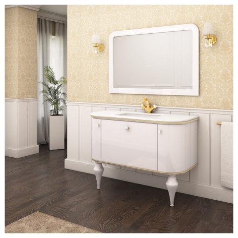 ANGELIQUE (Марсан) - ретро комплект мебели для ванной комнаты