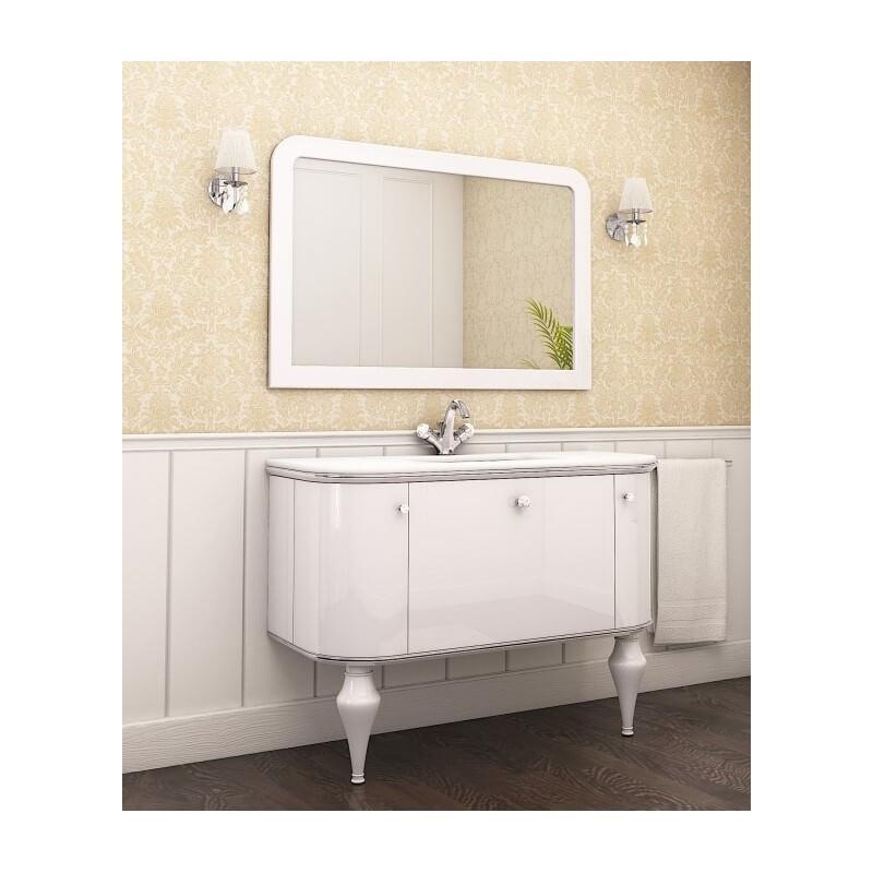 Тумба в ванную с зеркалом Амелия (Марсан)