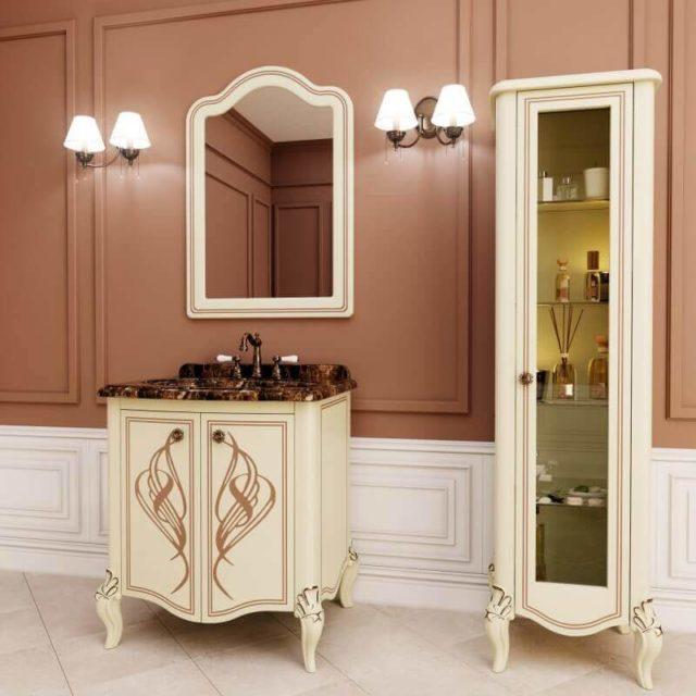 классическая тумба в ванную комнату МАРСАН МЕЛИСА