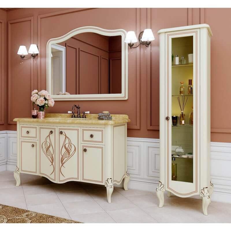 ТумбаMELISSA (Marsan) - в ванную комнату с раковиной и зеркалом (гарнитур), купить в Киеве