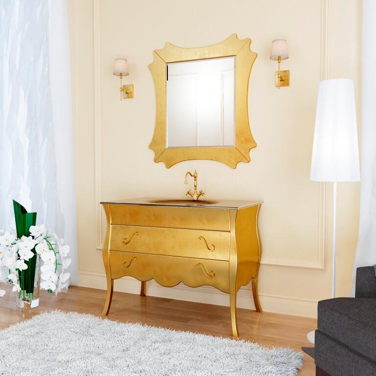 купить классическую тумбу для ванной комнаты Дианна Марсан