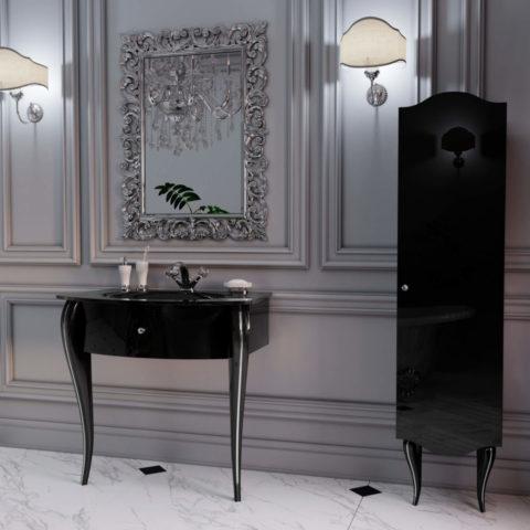Классический комплект мебели для ванной комнаты MILENA Марсан