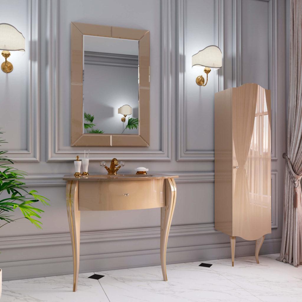 Комплект классической мебели для ванной комнаты MILENA (Милена) Марсан, купить в Киеве