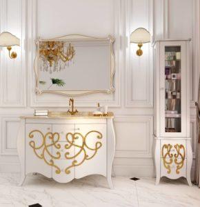 Купить мебель в ванную комнату BERNARDE Марсан в Киеве, Одессе