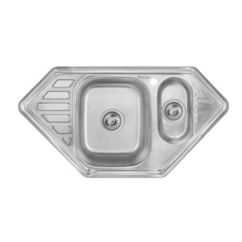 Мойка для кухни из нержавеющей стали Imperial 9550-С Decor (7832), купить раковину на кухню в Киеве