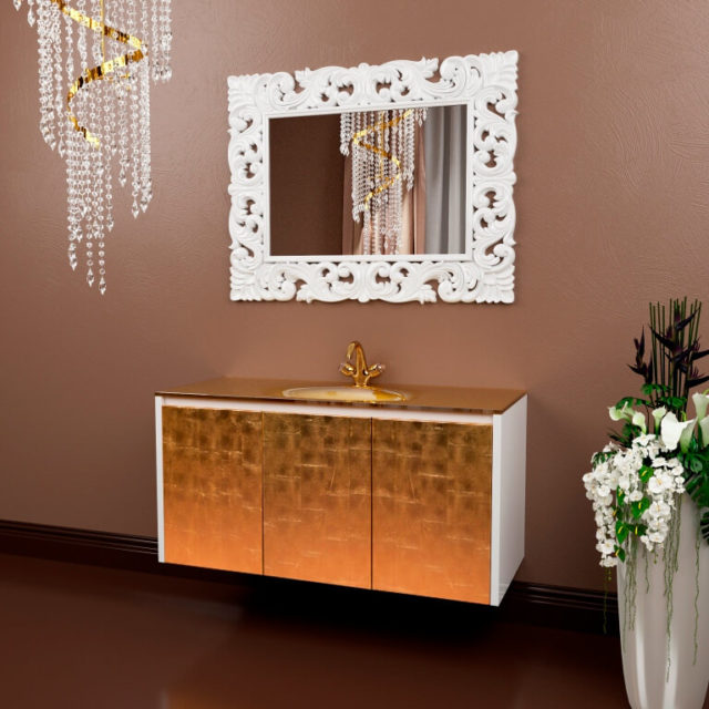 Роскошная мебель в ванную Марсан