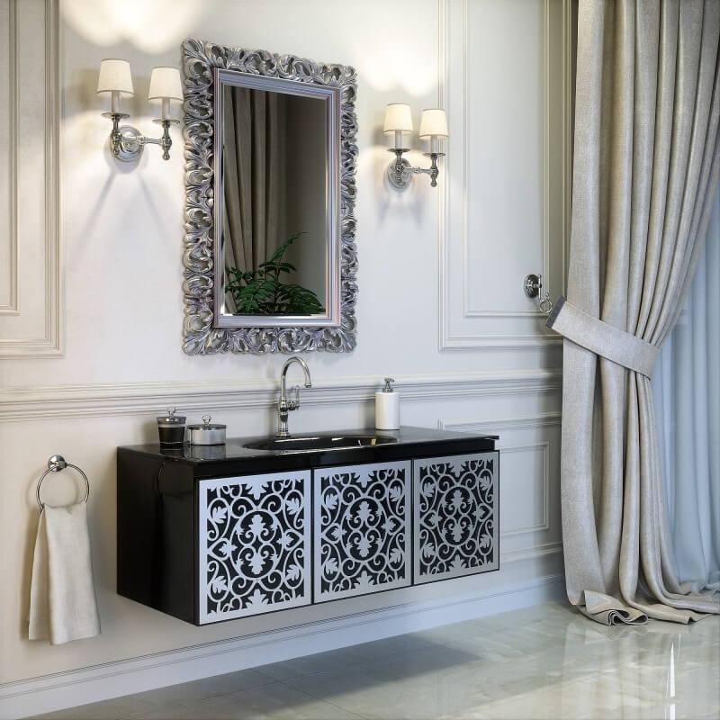 Черный комплект мебели Марсан Винсент